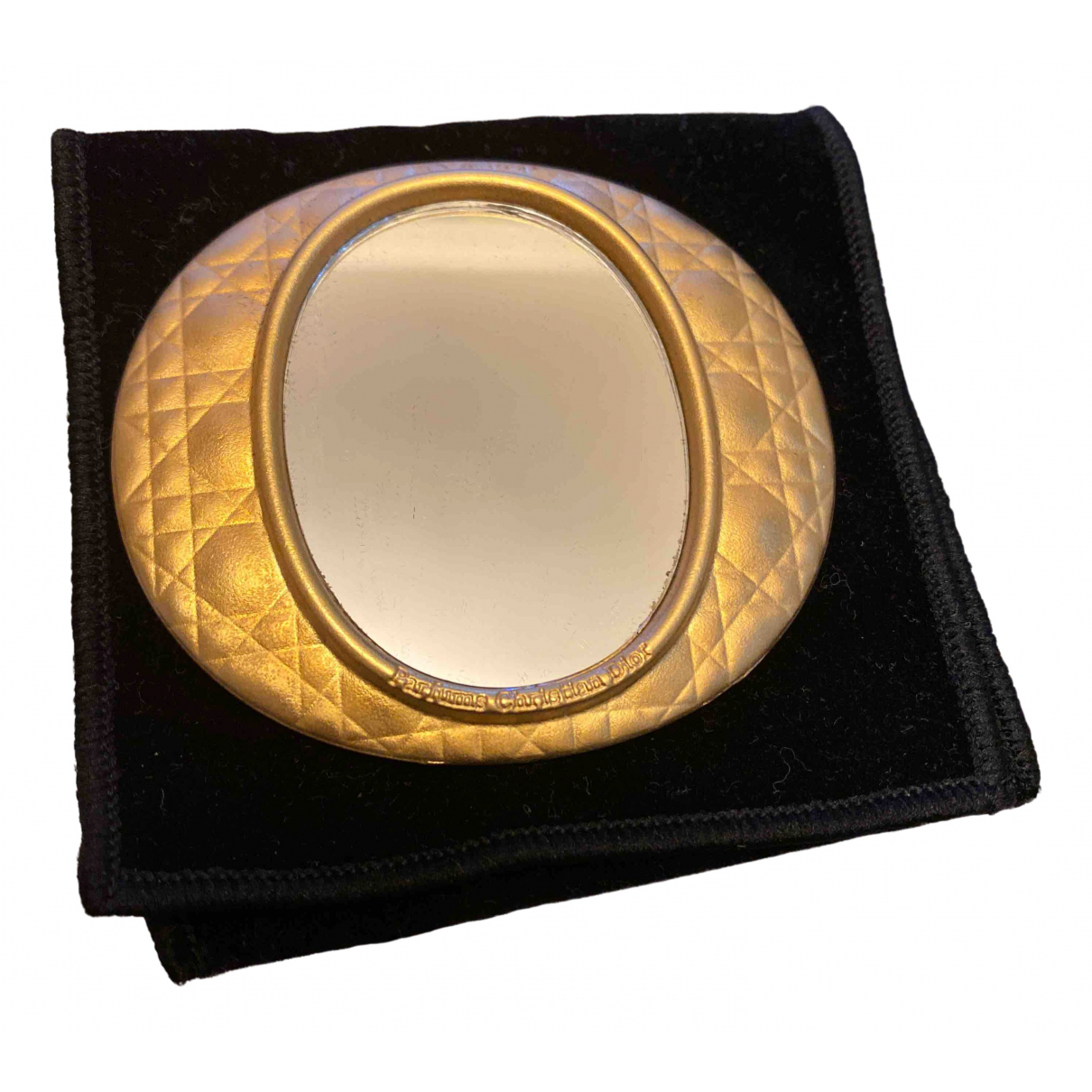 Dior - Objets & Deco   pour lifestyle en plaque or - dore
