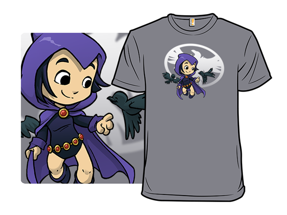 Raven-haired Heroine T Shirt