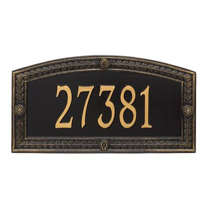 1876BG Personalized Hamilton Plaque - Estate - Wall - 1 line in