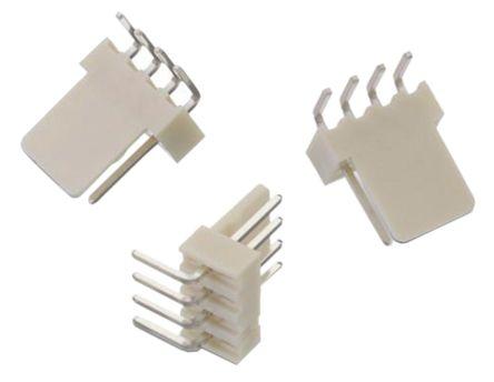 Wurth Elektronik , WR-WTB, 3 Way, 1 Row, Right Angle PCB Header (5)