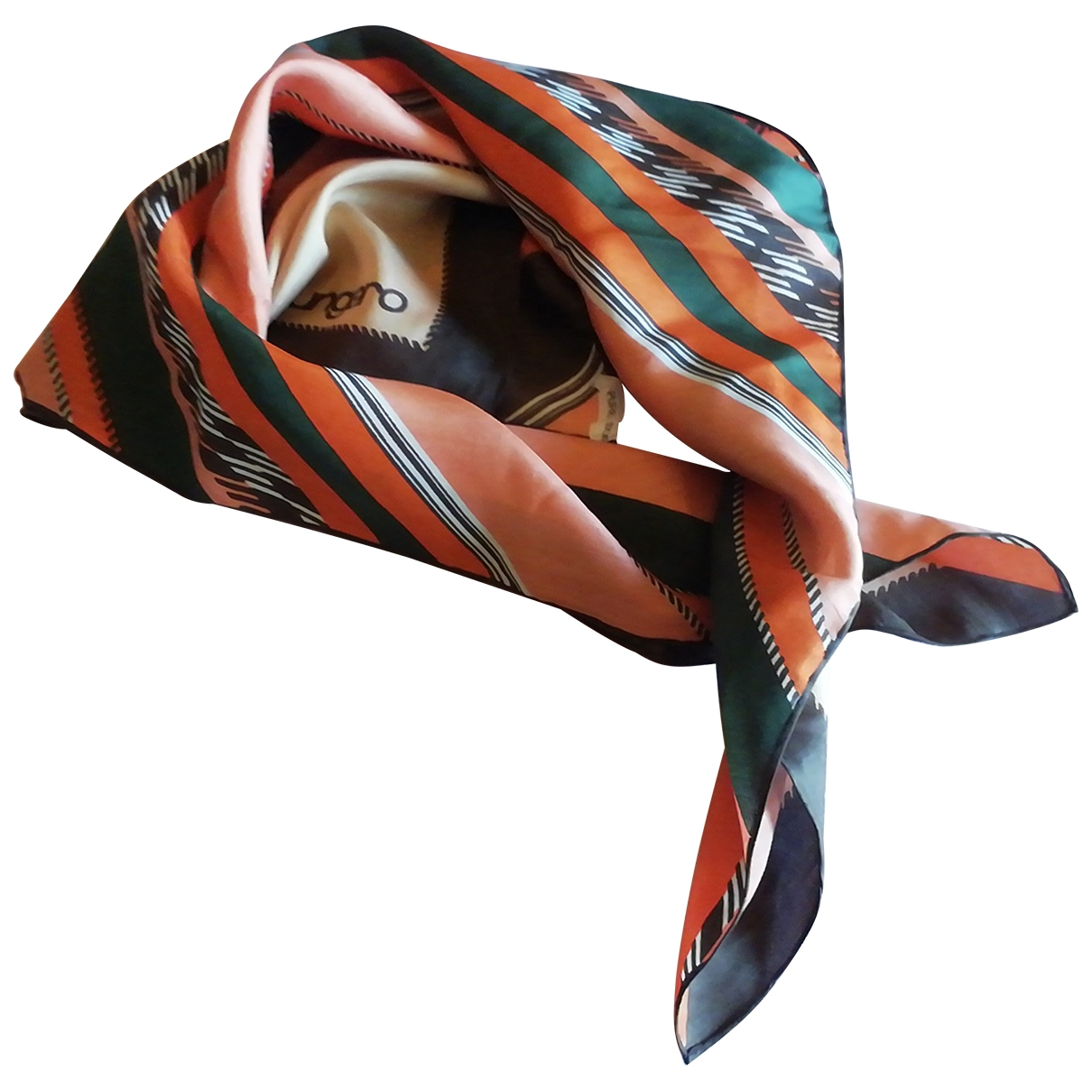 Emanuel Ungaro \N Multicolour Silk scarf for Women \N