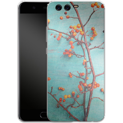 Huawei P10 Silikon Handyhuelle - She Hung Her Dreams on Branches von Joy StClaire