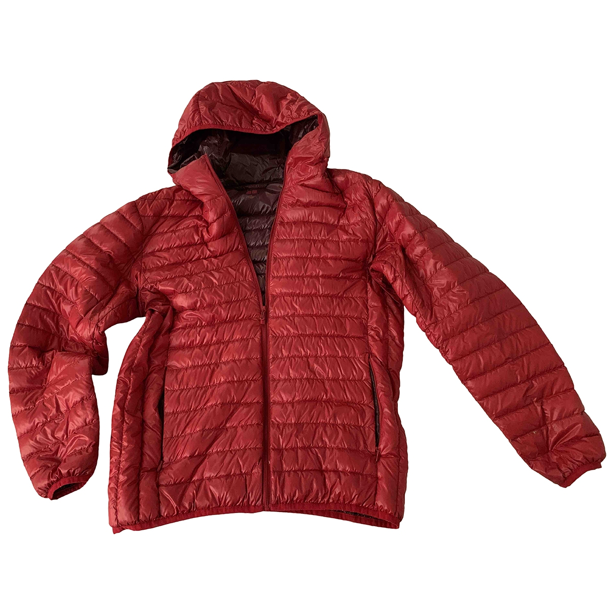 Uniqlo \N Jacke in  Rot Polyester