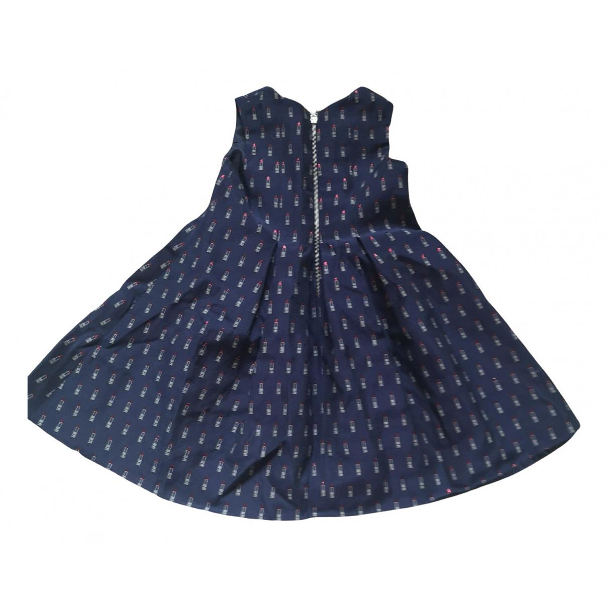 Tartine Et Chocolat - Robe    pour enfant en coton - elasthane - bleu