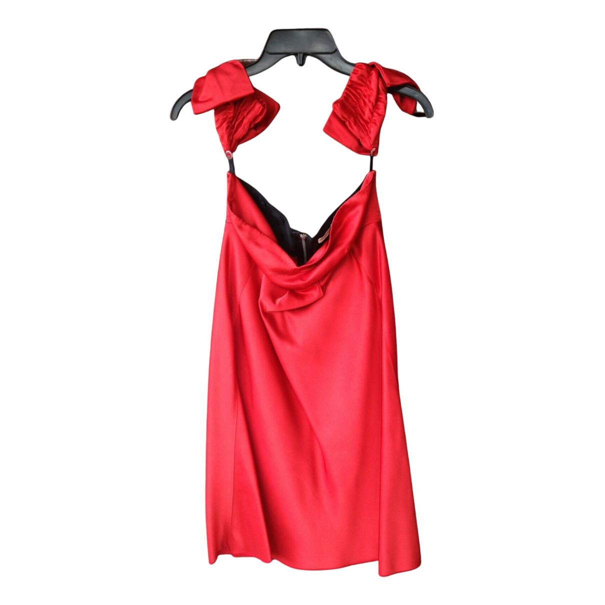 Vivetta \N Kleid in  Rot Synthetik