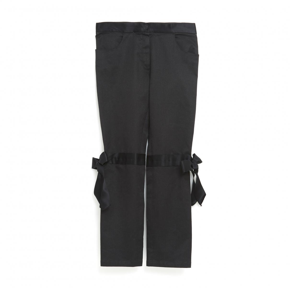 Chanel \N Black Cotton - elasthane Jeans for Women 33 US
