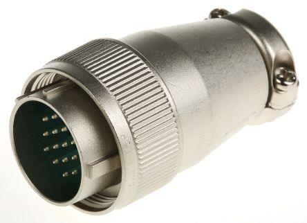 JAE Connector, 16 contacts Cable Mount Miniature Plug, Solder (5)