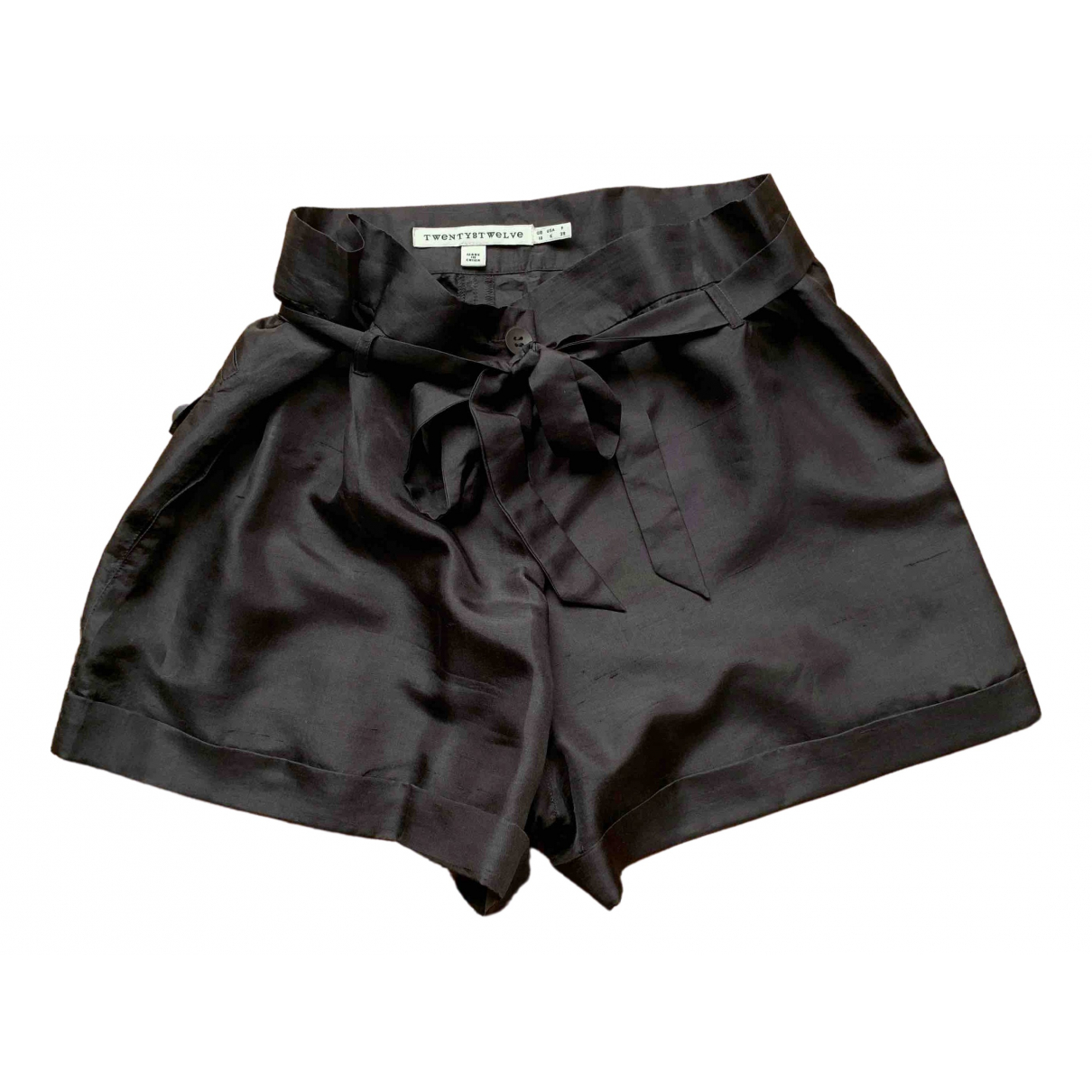 Twenty8twelve By S.miller \N Brown Silk Shorts for Women 10 UK