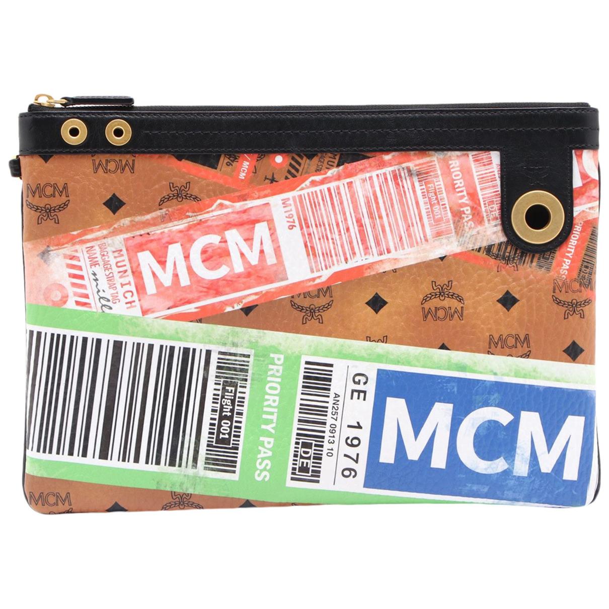 Mcm - Petite maroquinerie   pour homme en cuir - multicolore
