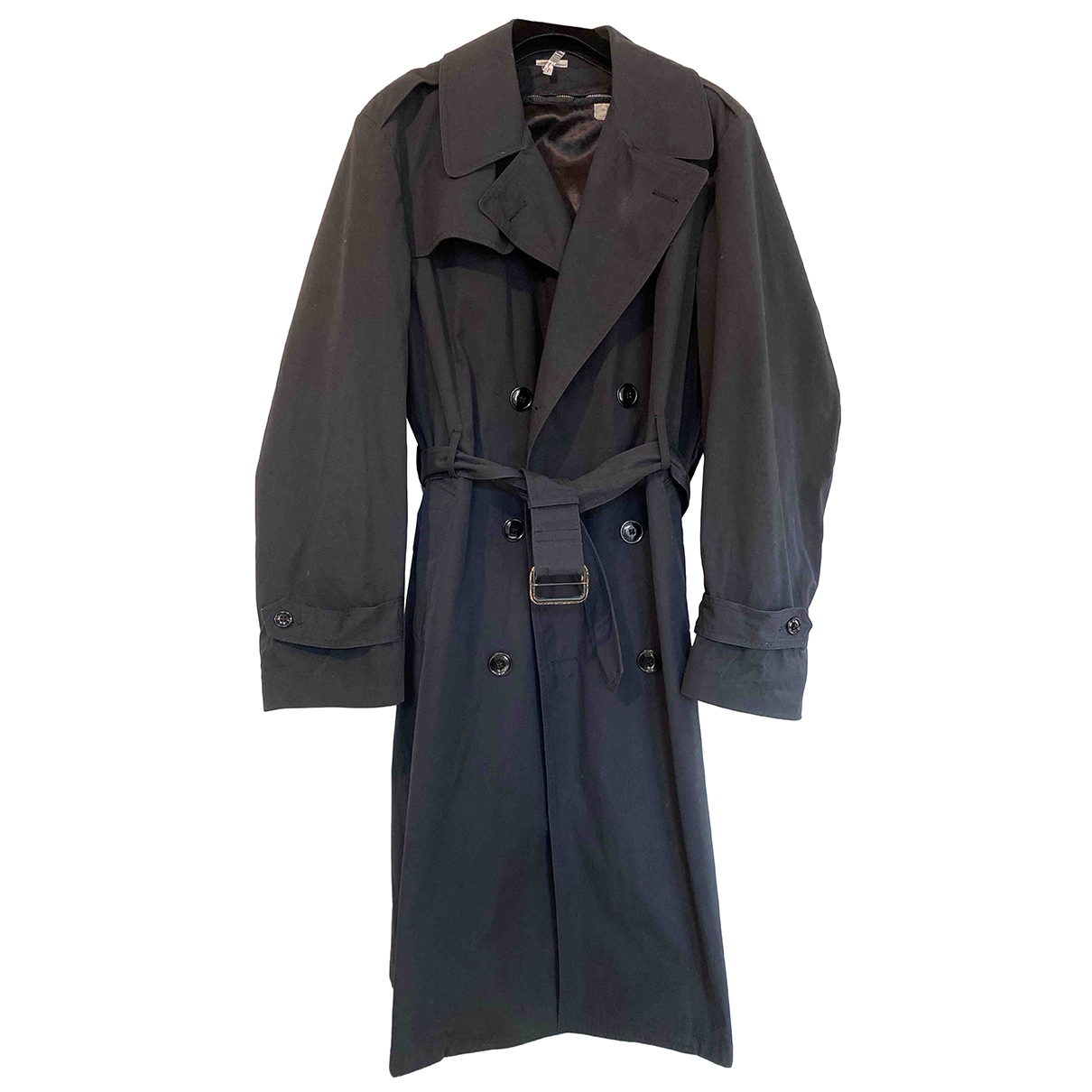 - Trench Oversize pour femme en coton - bleu