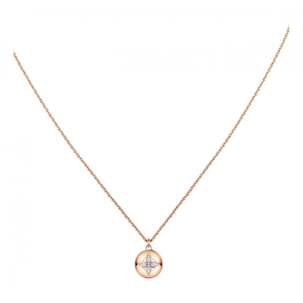 Collar Idylle Blossom de Oro rosa Louis Vuitton