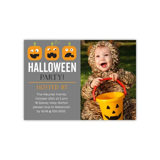 20 Pack of Gartner Studios® Personalized Not So Scary Flat Halloween Party Invitations | Michaels®
