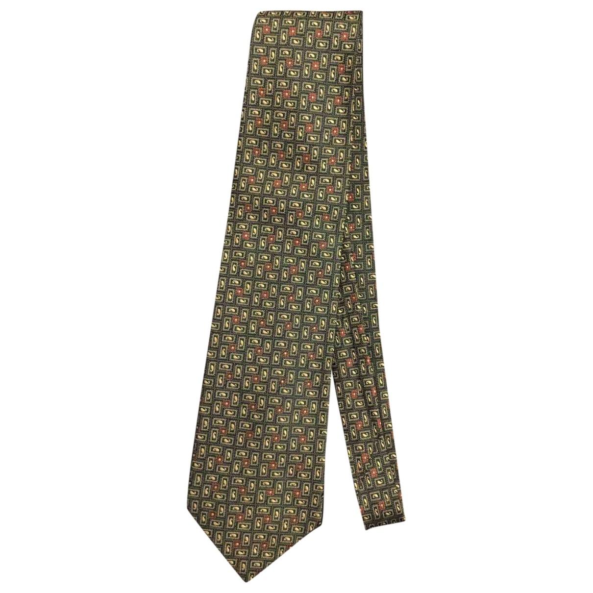 Ermenegildo Zegna - Cravates   pour homme en soie - vert