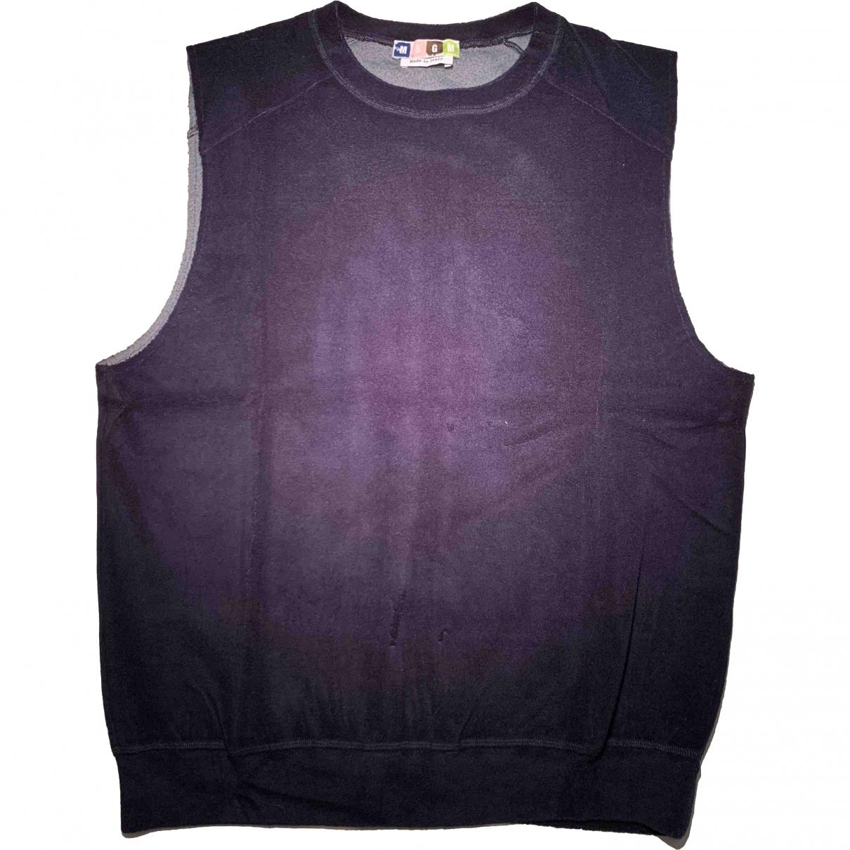 Msgm \N Pullover.Westen.Sweatshirts  in  Blau Baumwolle