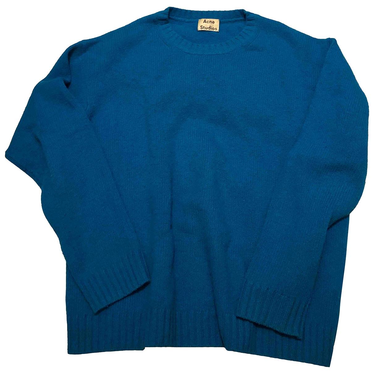 Acne Studios \N Blue Wool Knitwear for Women M International
