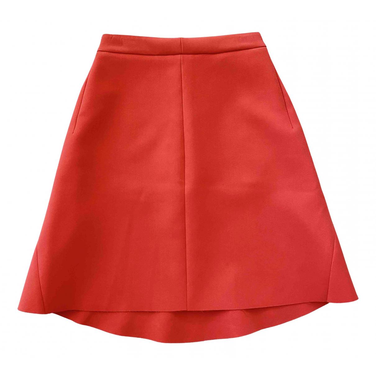 Msgm N Orange skirt for Women 40 IT