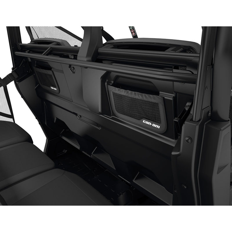 Can-Am Backrest Rear Storage for Defender MAX