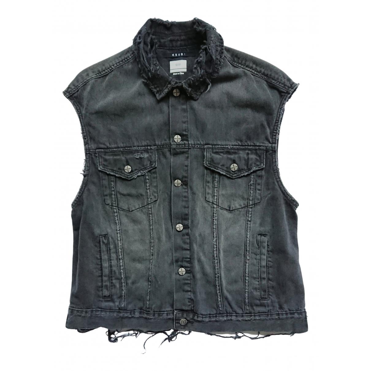 Ksubi - Vestes.Blousons   pour homme en coton - noir