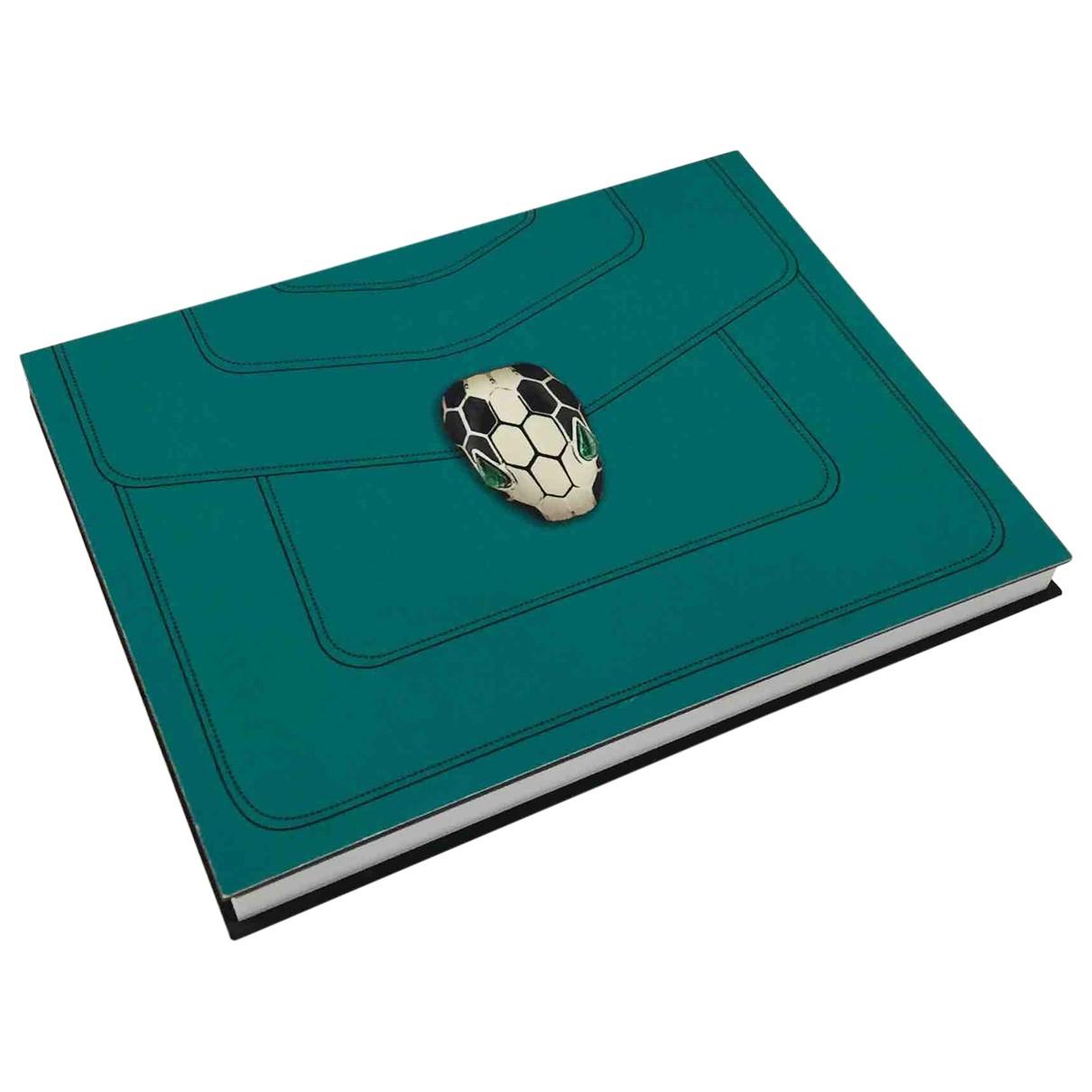 Bvlgari \N Accessoires und Dekoration in  Gruen Baumwolle