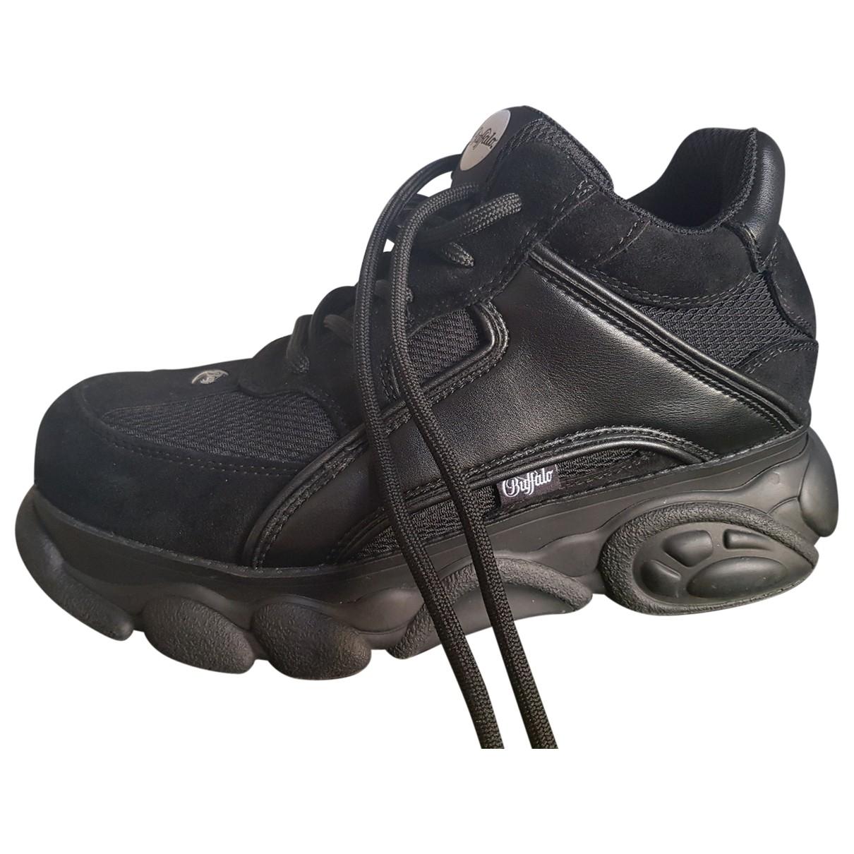 Buffalo \N Sneakers in  Schwarz Leinen