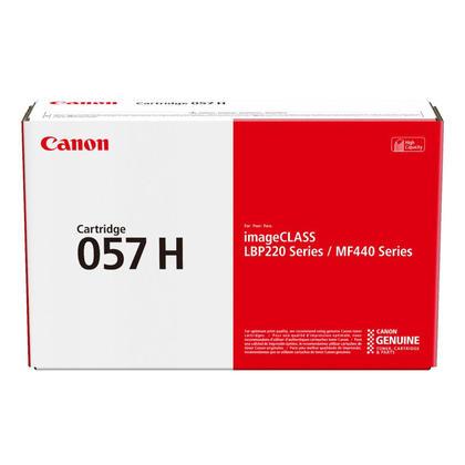 Canon 057H 3010C001 Original Black Toner Cartridge High Yield