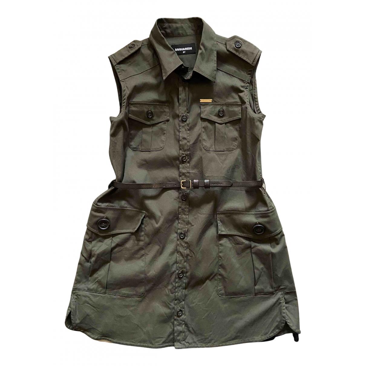Dsquared2 - Robe    pour enfant en coton - vert