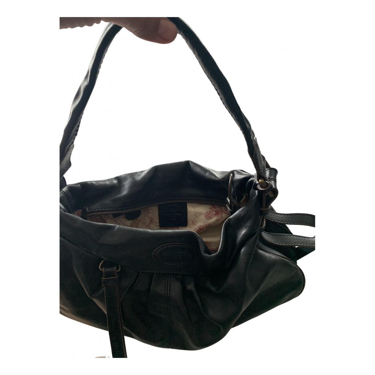 Lancel N Black Leather handbag for Women N