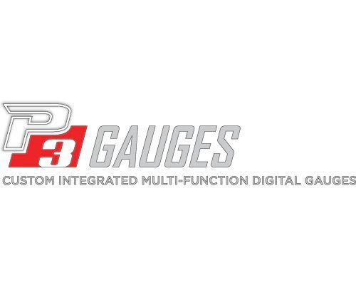 P3 Analog Gauge - BMW F3X / F8X 2011-2019 RHD, Orange Bars / White Digits, Pre-Installed in OEM Vent