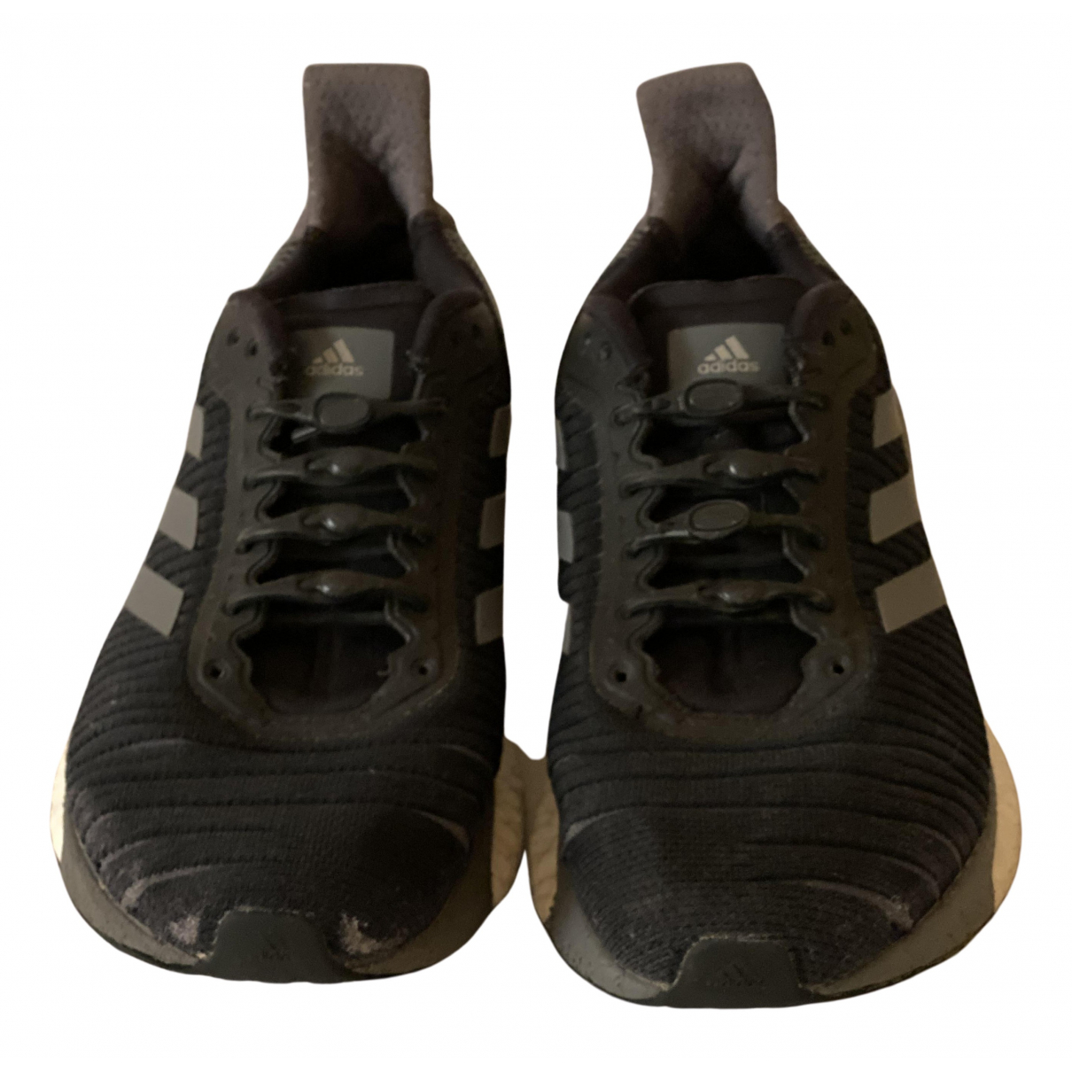 Adidas - Baskets PureBOOST pour enfant en toile - noir