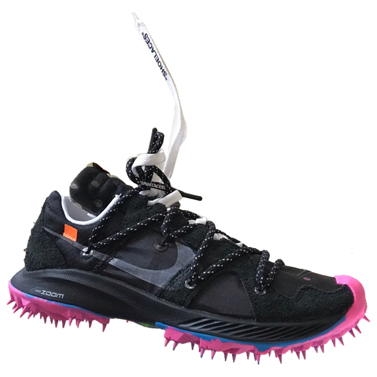 Nike X Off-white Zoom Terra Kiger 5 Sneakers in  Schwarz Leinen