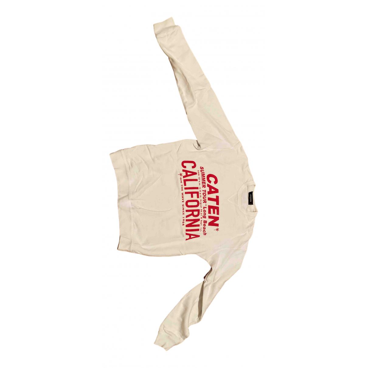 Dsquared2 N White Cotton Knitwear & Sweatshirts for Men L International