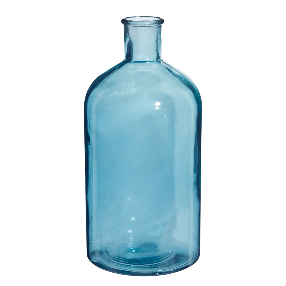Deko-Flasche aus Glas H 28cm ESCALE