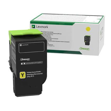 Lexmark C2310Y0 cartouche de toner du programme retour originale jaune
