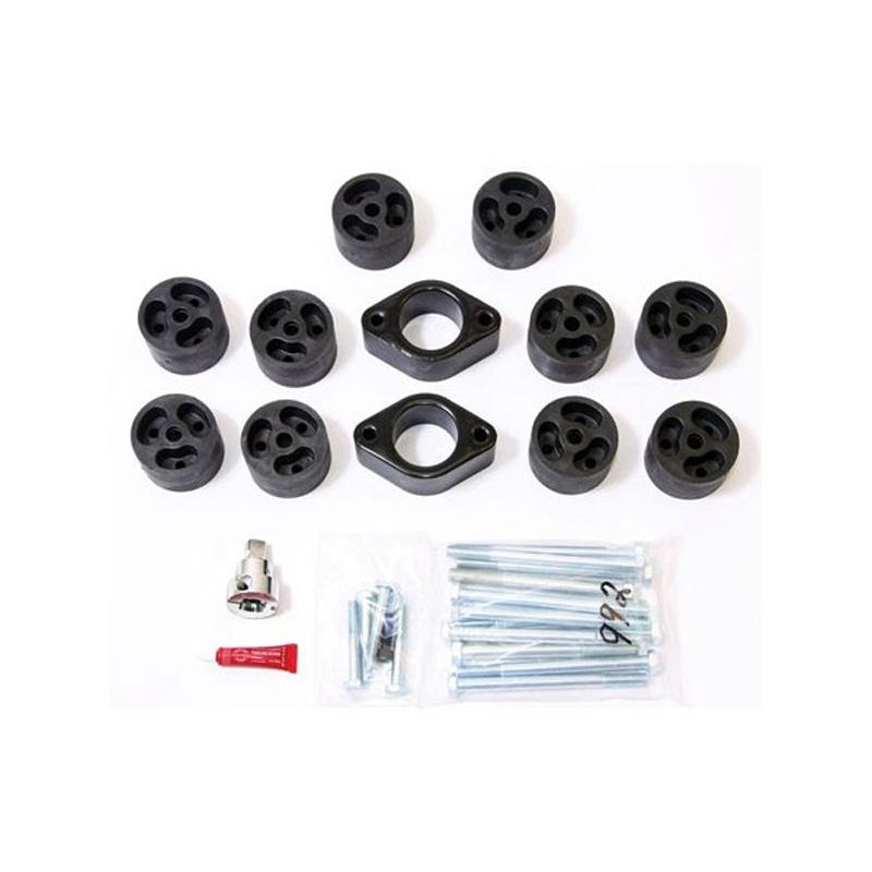 2 Inch Body Lift Kit 07-11 Jeep JK/JKU Wrangler w/Auto Trans Only 2WD/4WD Gas Performance Accessories PA992