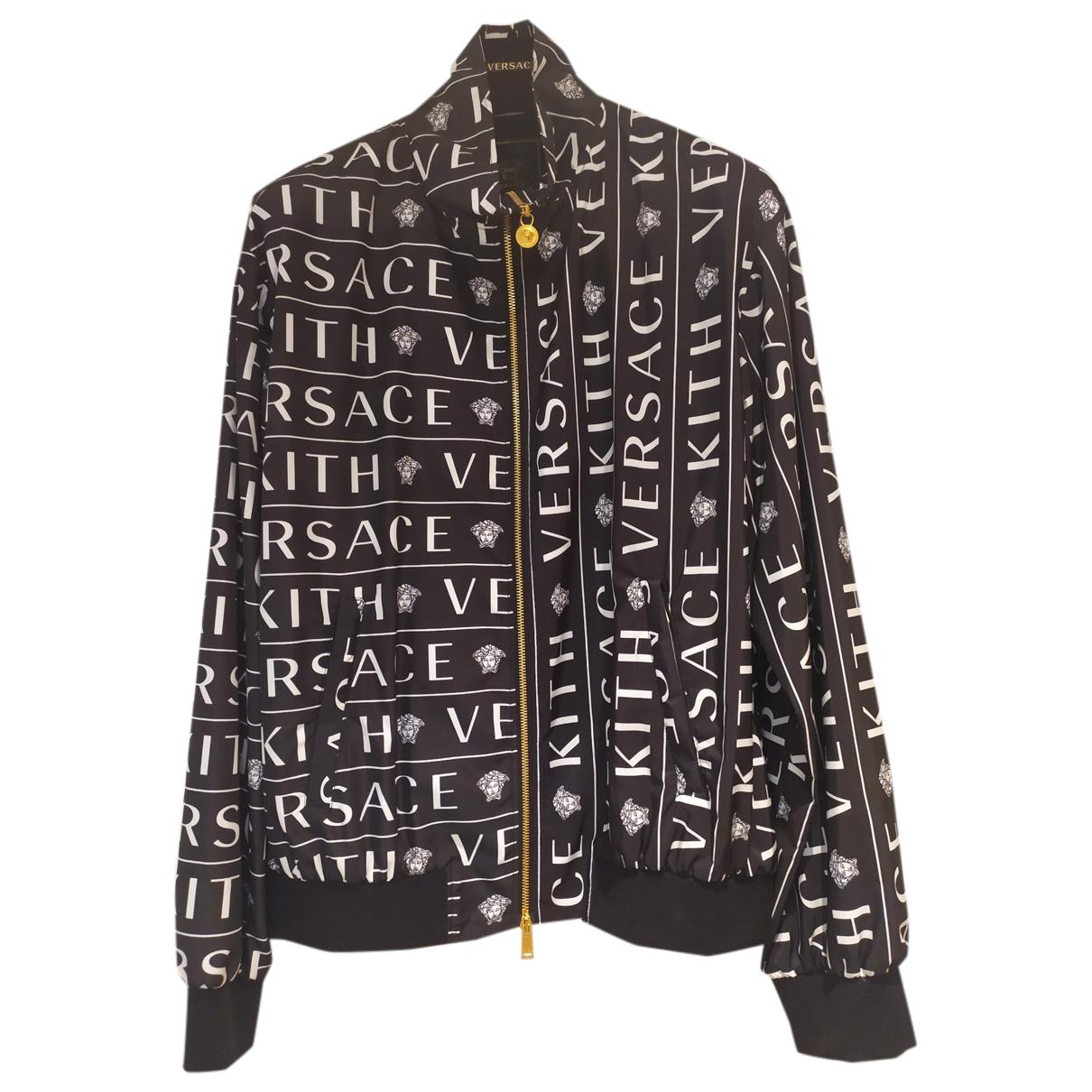 Versace X Kith \N Jacke in  Schwarz Synthetik