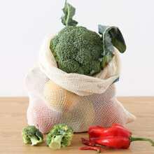 1pc Fruit & Vegetables Storage Mesh Bag