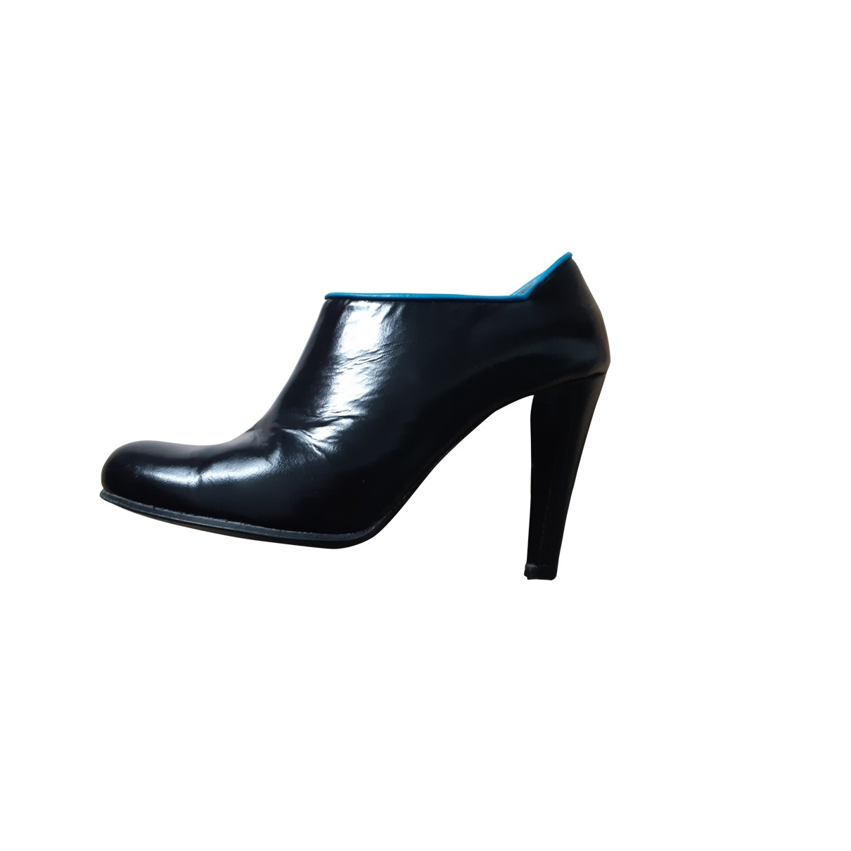 Marc By Marc Jacobs \N Black Patent leather Ankle boots for Women 37.5 EU