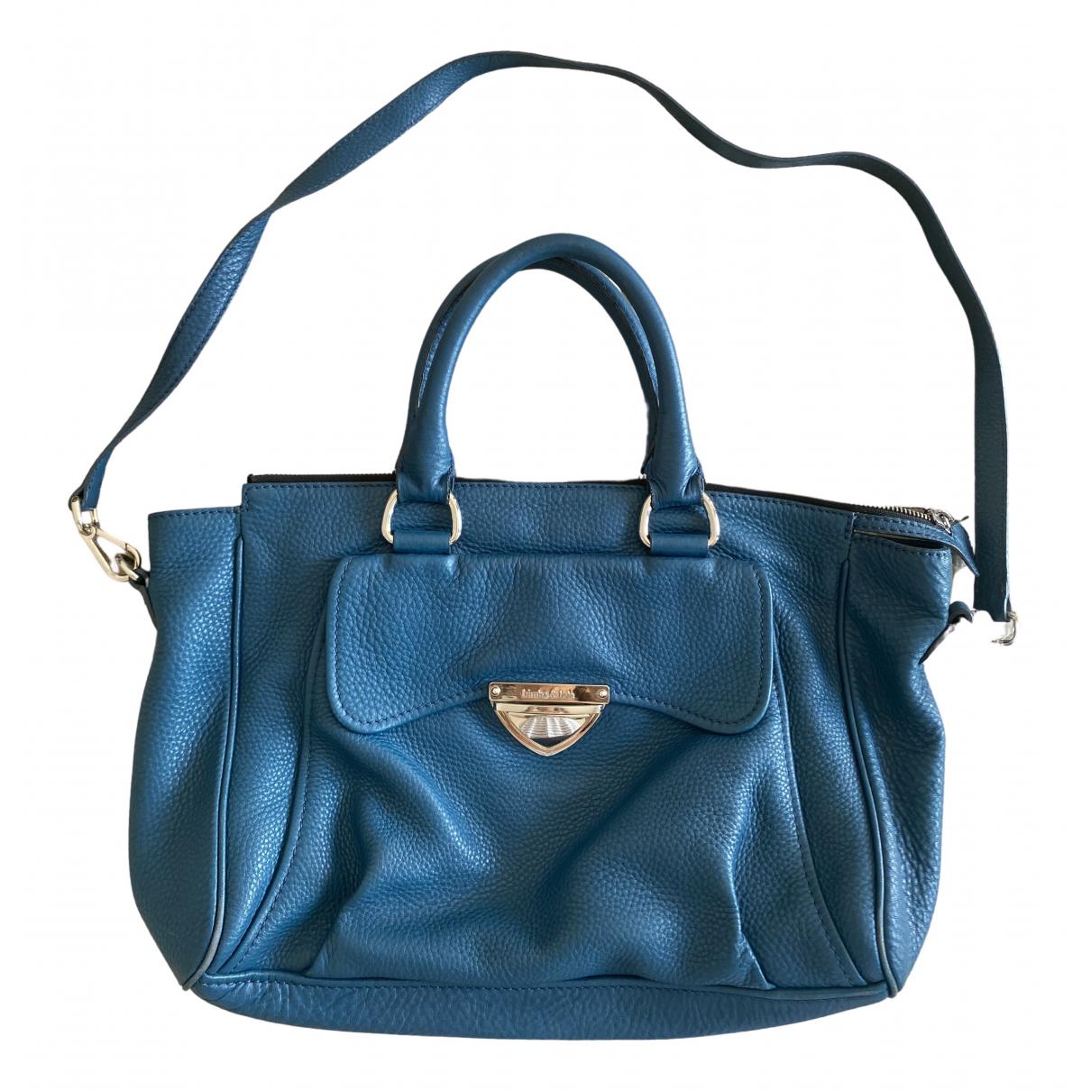 Bimba Y Lola \N Blue Leather handbag for Women \N