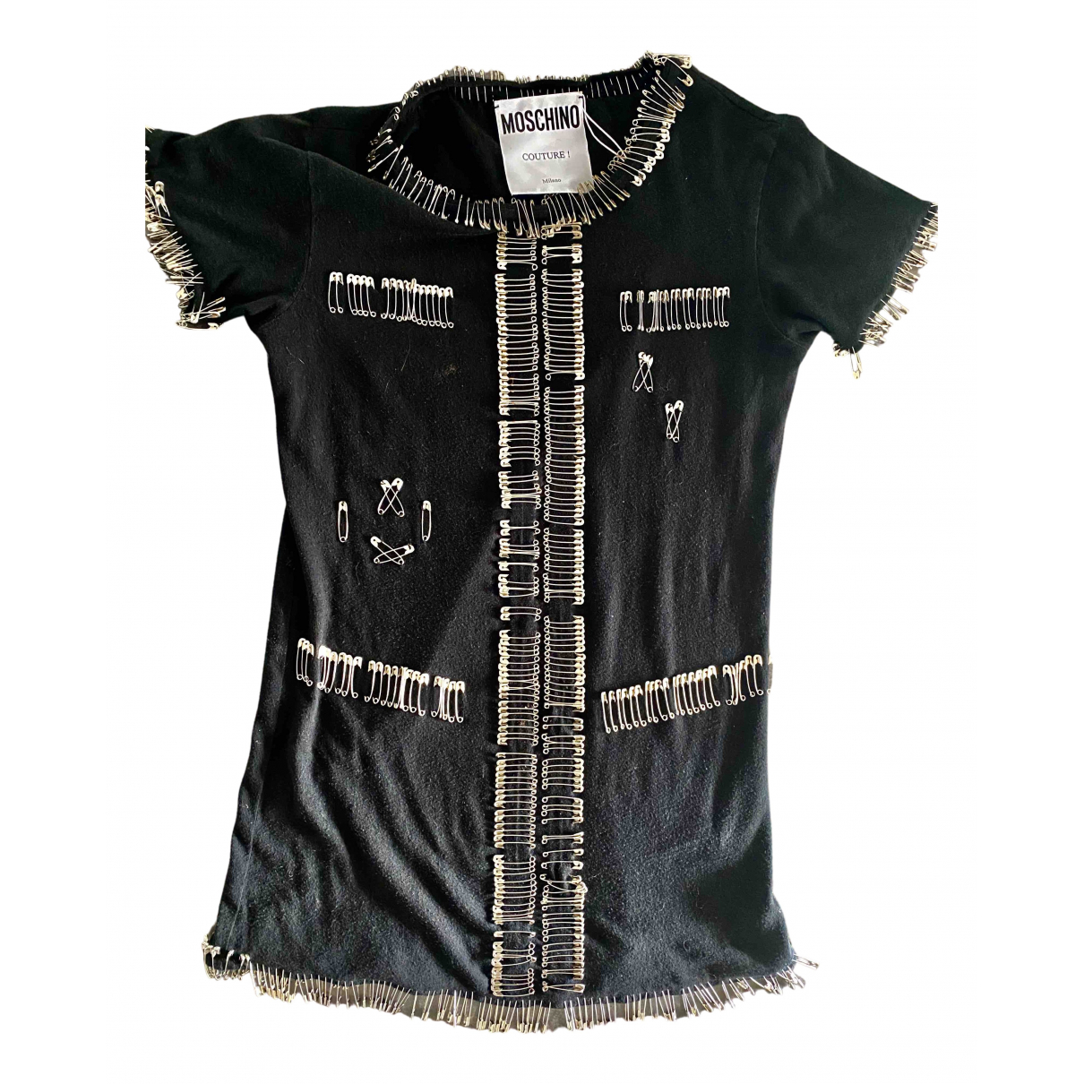 Moschino N Black Cotton  top for Women 40 IT