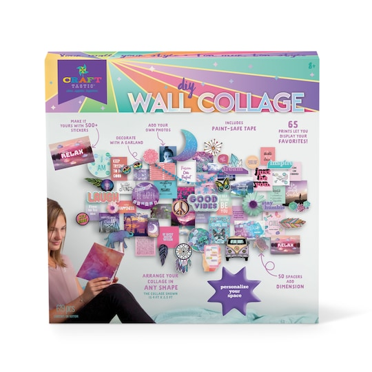 Craft-Tastic® DIY Wall Collage Kit | Michaels®