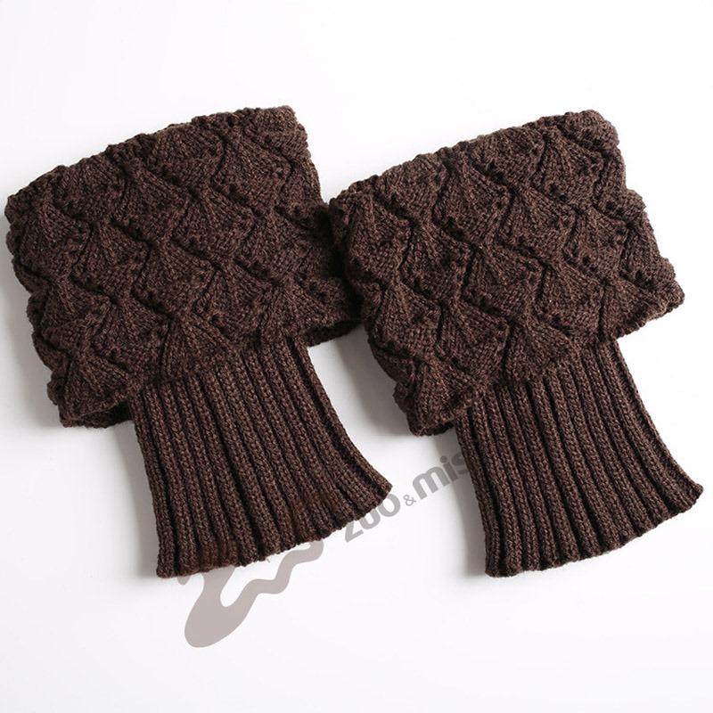 Ericdress Knit Boots Cuffs Socks For Women