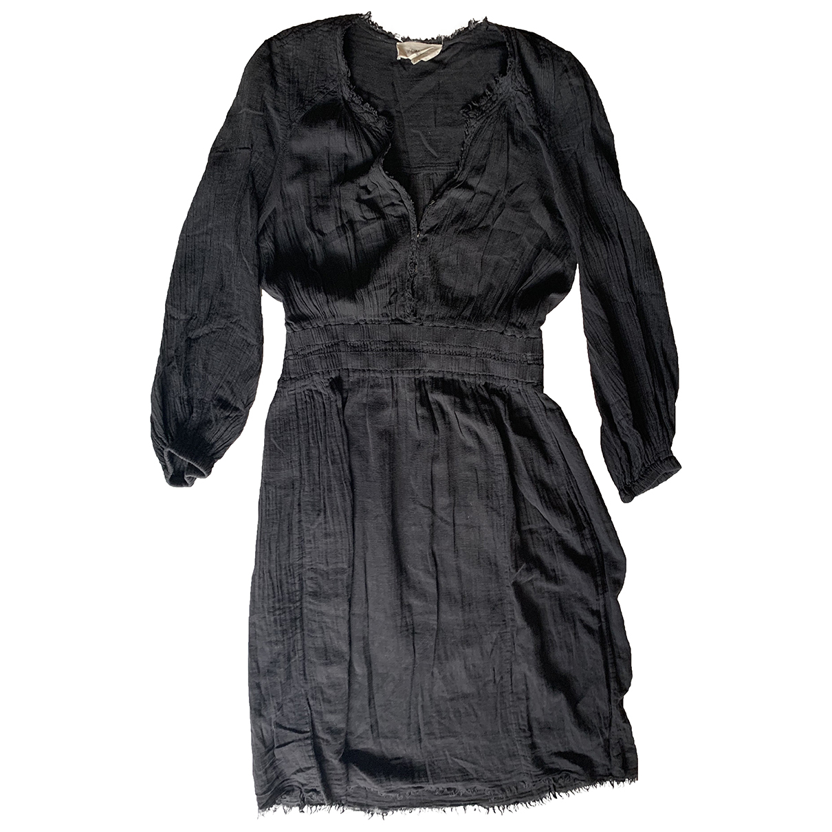 Isabel Marant Etoile \N Black Cotton dress for Women 3 0-5
