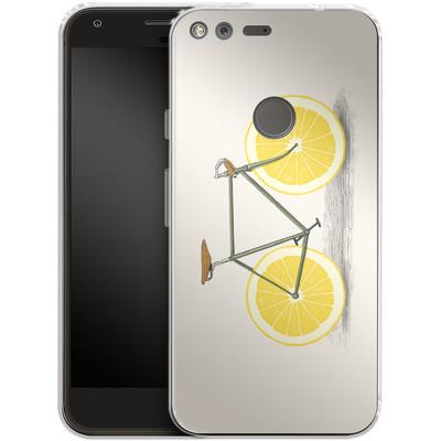 Google Pixel Silikon Handyhuelle - Zest von Florent Bodart