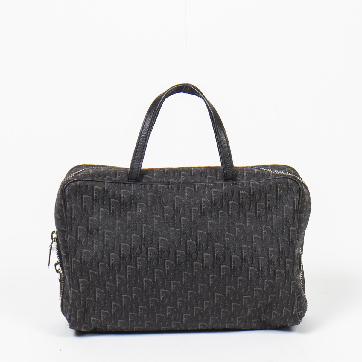 Dior \N Handtasche in  Schwarz Baumwolle