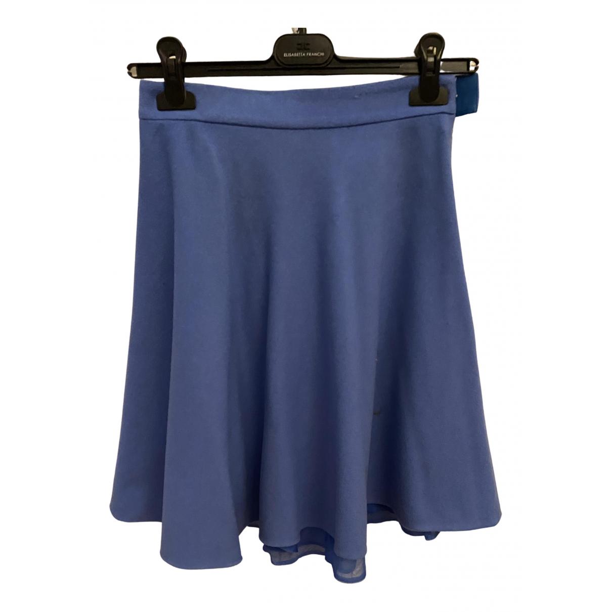 Ermanno Scervino \N Rocke in  Blau Wolle