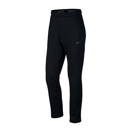 Nike Mens Therma Fleece Pant, Xx-large , Black