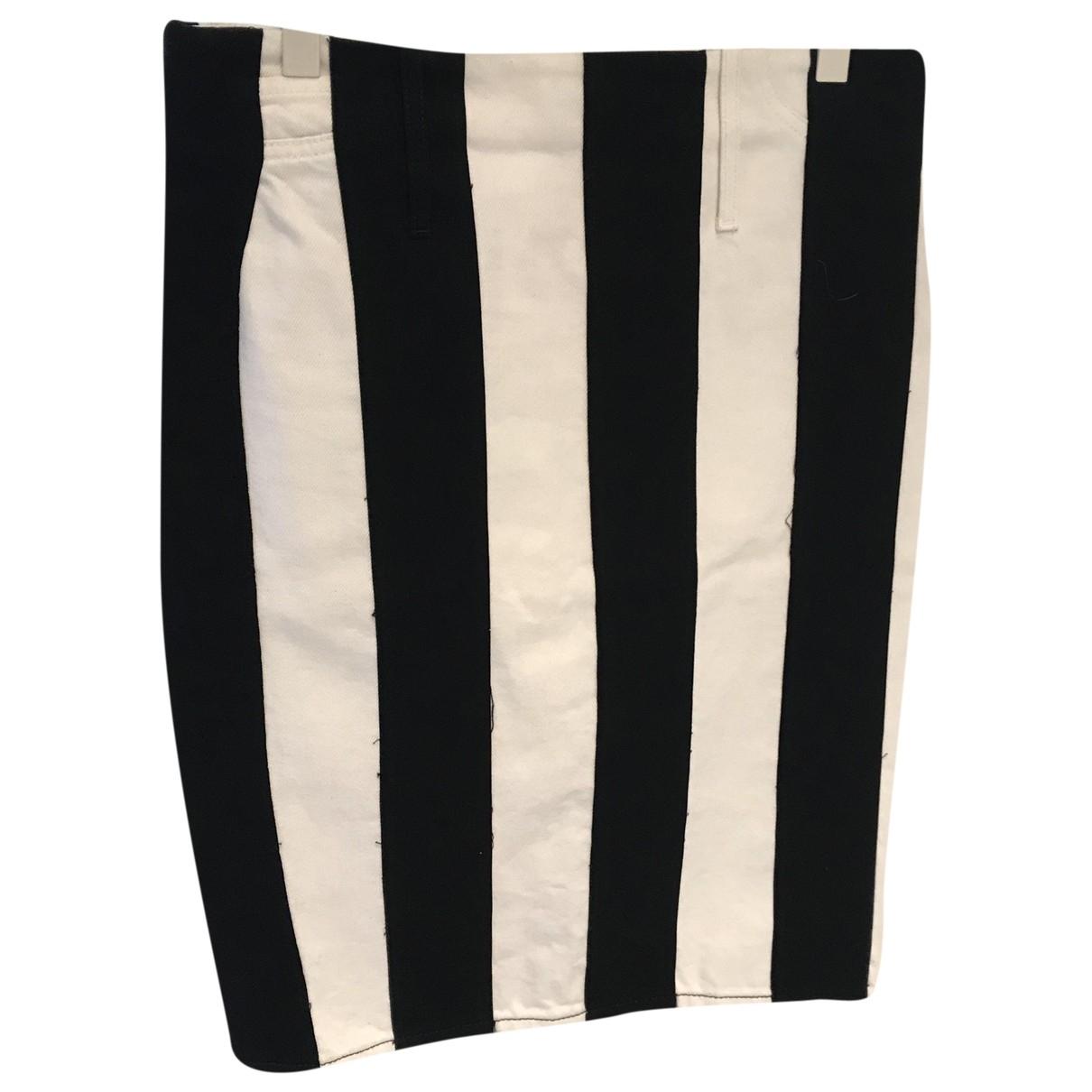 Acne Studios \N White Cotton skirt for Women 34 FR