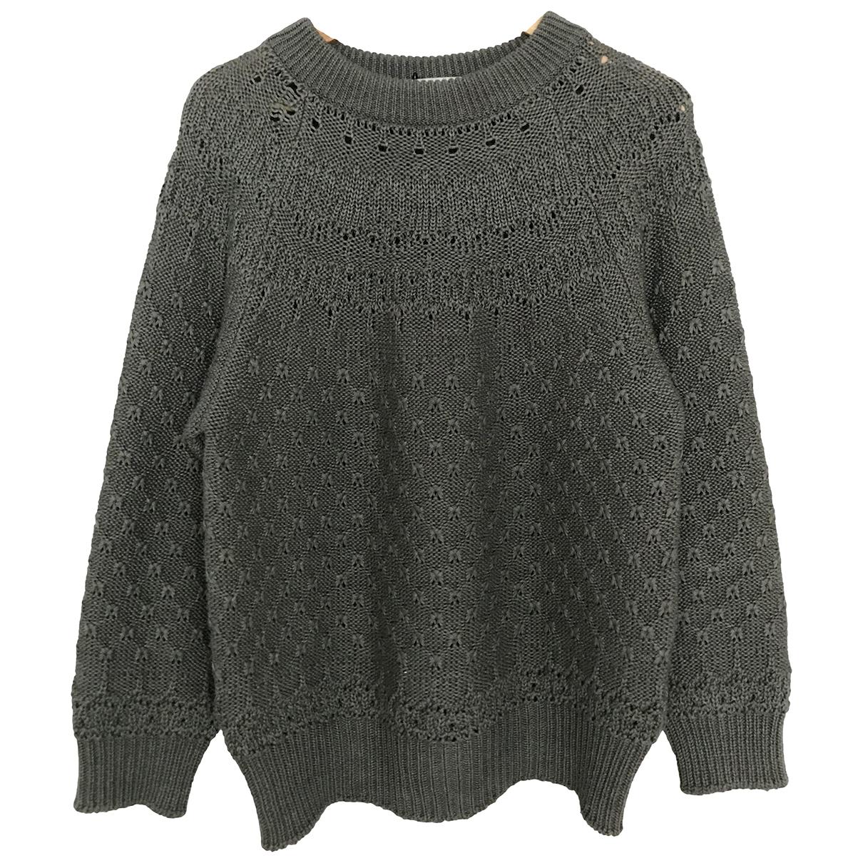 Ganryu \N Pullover.Westen.Sweatshirts  in  Grau Synthetik