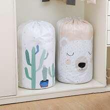 1pc Random Pattern Quilt Storage Bag