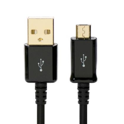 Câble USB de charge et de synchronisation premium USB 2.0 à micro 5Pin - noir - PrimeCables® - 1,5pi